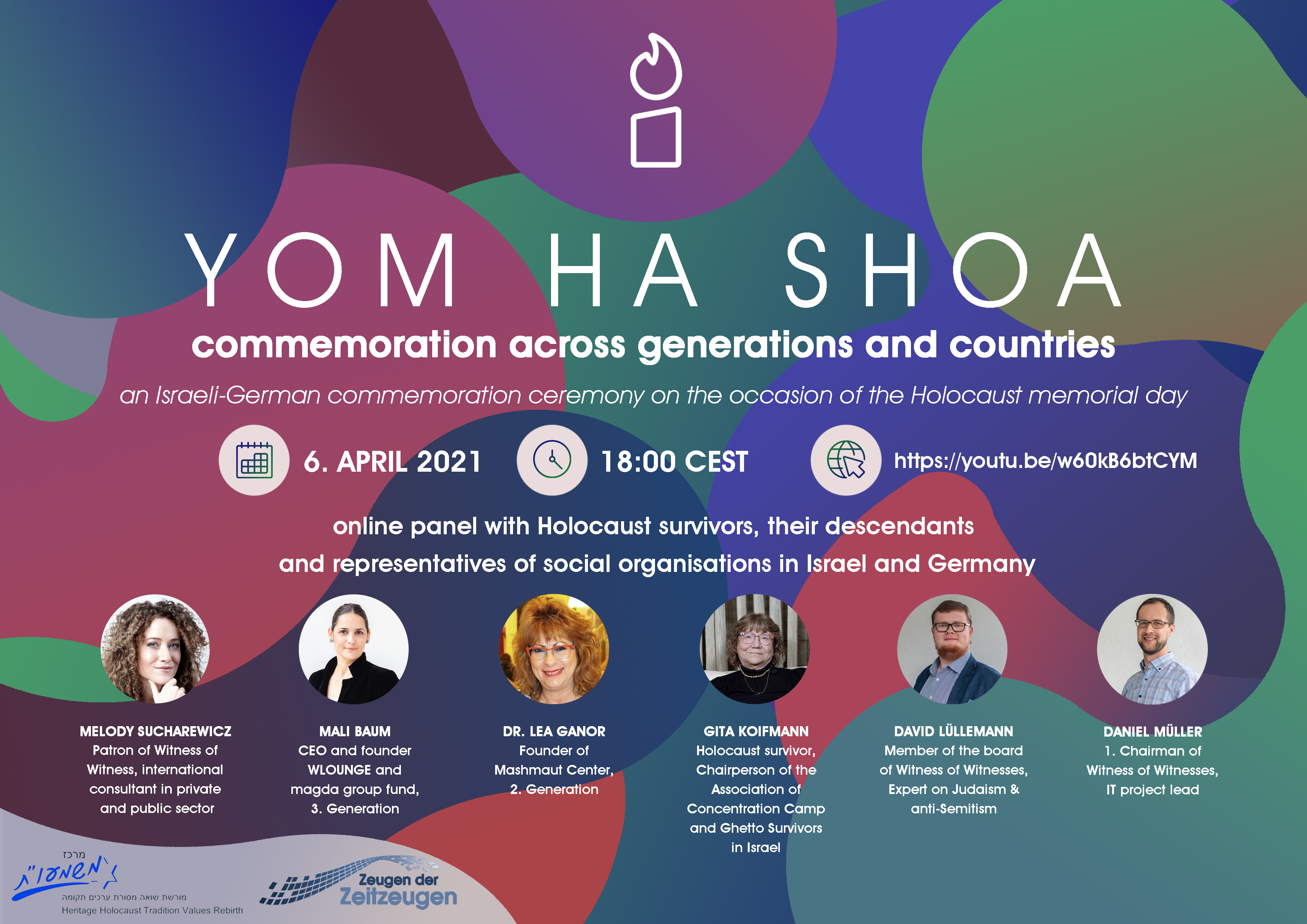Yom Ha Shoa | an Israeli-German commemoration ceremony